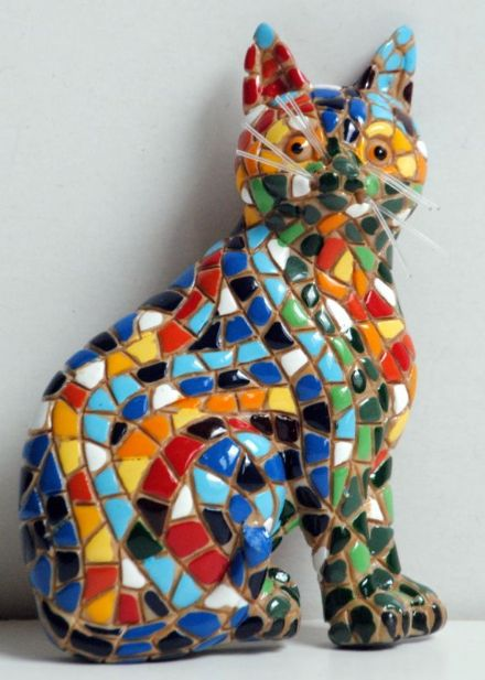 Barcino Designs Cat Magnet 13574